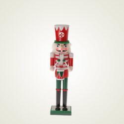 Καρυοθραύστης ξύλινος, κόκκινος, 24cm