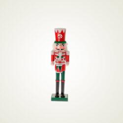 Καρυοθραύστης ξύλινος, κόκκινος, 18cm