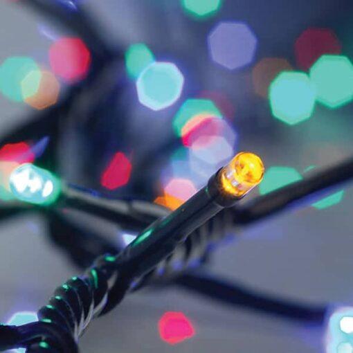 180 Πολύχρωμα LED με πρόγραμμα και μετασχηματιστή