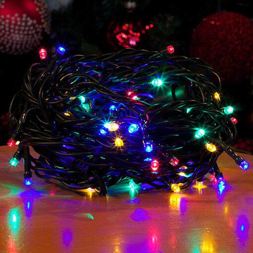 80 Πολύχρωμα LED επεκτεινόμενα