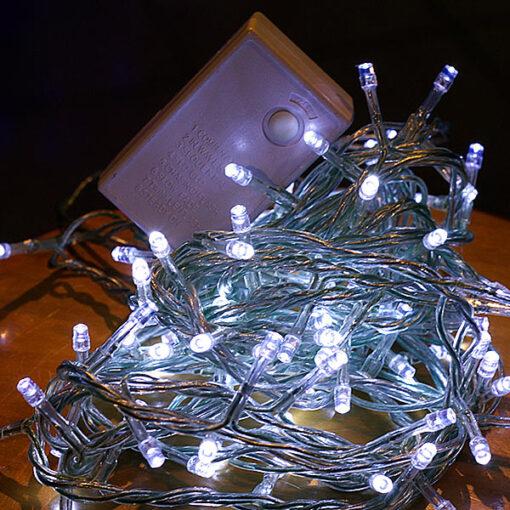 100 Λευκά LED με πρόγραμμα