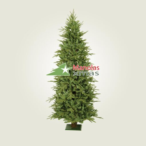 Χριστουγεννιάτικο δέντρο PVC SLIM 2.25μ