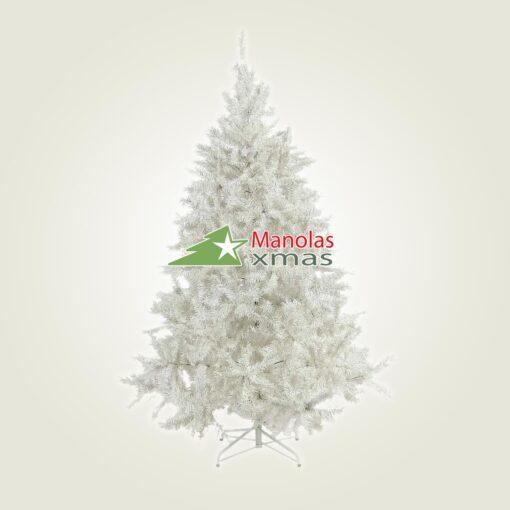 Χριστουγεννιάτικο δέντρο Λευκό 2.10μ