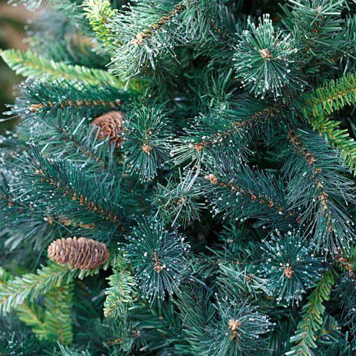 Χριστουγεννιάτικο δέντρο SMOKY σαν αληθινό, 2.10μ Slim