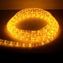 Φωτοσωλήνας 10m κίτρινος με πρόγραμμα