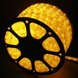 Φωτοσωλήνας κίτρινος με το μέτρο