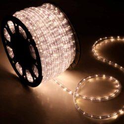 Φωτοσωλήνας LED λευκός θερμός με το μέτρο