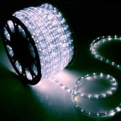 Φωτοσωλήνας LED λευκός, κουλούρα 48μ