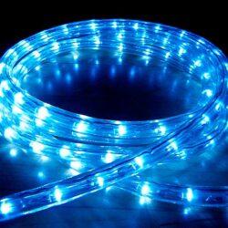 Φωτοσωλήνας LED 10μ Μπλε Σταθερός