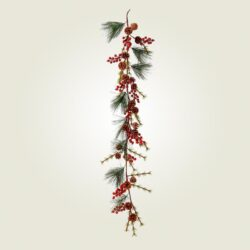 Γιρλάντα με κόκκινα Berries