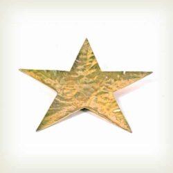 Βάση - Αστέρι σφηρήλατο 27cm, χρυσό