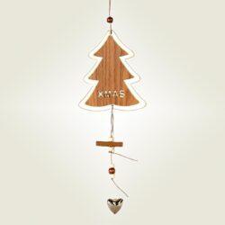 Χριστουγεννιάτικο δεντράκι ύψους 30cm