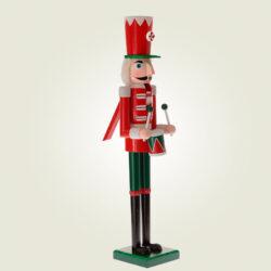 Καρυοθραύστης ξύλινος, κόκκινος, 50cm