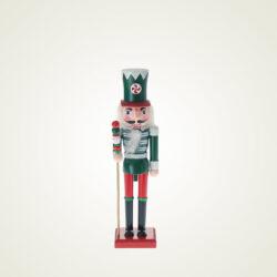 Καρυοθραύστης ξύλινος, πράσινος, 24cm