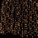 Κουρτίνα 2X1.80m με 360 Θερμά Λευκά LED
