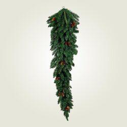 Χριστουγεννιάτικο δέντρο τοίχου κρεμαστό, 180cm