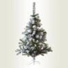 Χιονισμένο χριστουγεννιάτικο δέντρο, ύψους 1,20μ