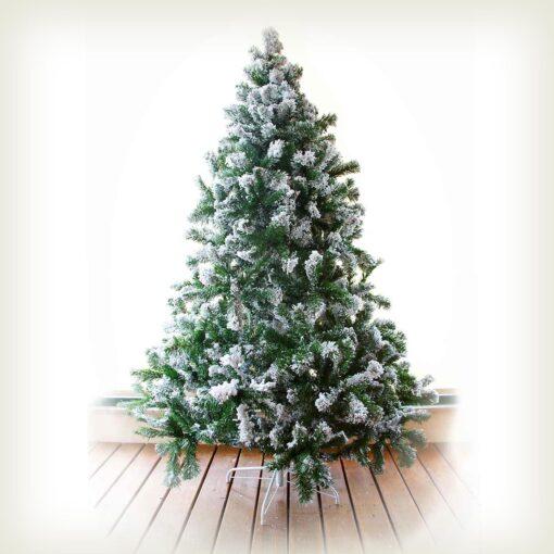 Χριστουγεννιάτικο δέντρο χιονισμένο, ύψους 210cm