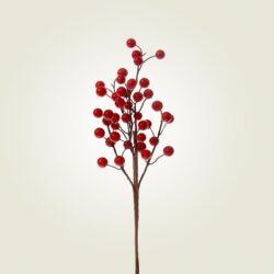 Κλαδί με κόκκινα berries, 33cm