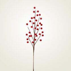 Κλαδί με κόκκινα berries, 50cm