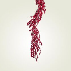 Γιρλάντα με κόκκινα Berries, 150cm