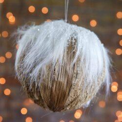 Μπάλα χριστουγεννιάτικη διαμέτρου 12cm