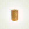 Κερί κορμός ρουστίκ χρυσό