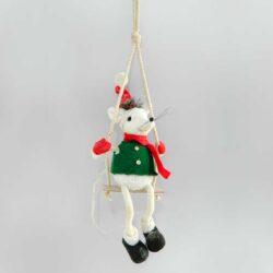 Κρεμαστό ποντικάκι με κούνια, ύψους 78cm