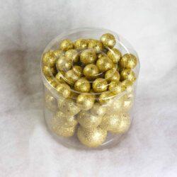 Μπαλίτσες χρυσές για decor σε ΣΕΤ