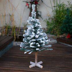 Χιονισμένο χριστουγεννιάτικο δέντρο, ύψους 90cm
