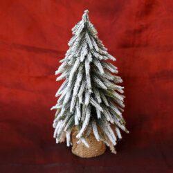 Δεντράκι χριστουγεννιάτικο χιονισμένο, ύψους 35cm