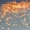 360 LED Κουρτίνα Διάφανο/Θερμό Λευκό 2X2 με μετασχηματιστή
