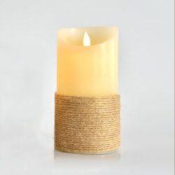 Κερί μπαταρίας με κινούμενη φλόγα, ύψους 15cm