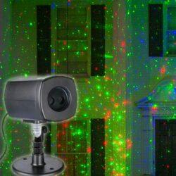 Προτζέκτρορας laser με χριστουγεννιάτικα σχέδια και πρόγραμμα