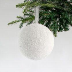 Μπάλα χιονισμένη, διαμέτρου 20cm
