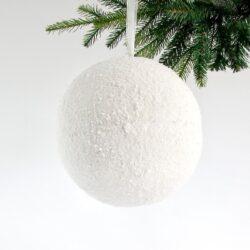 Μπάλα χιονισμένη, διαμέτρου 25cm