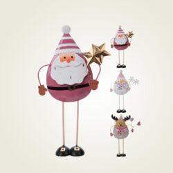 Μεταλλικό χριστουγεννιάτικο στολίδι, ύψους 23cm