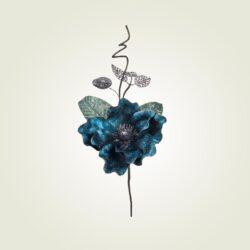 Κλαρί Μανόλια μπλε royal, ύψους 35cm