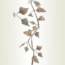 Γιρλάντα - αλεξανδρινό σαμπανί βελούδο, μήκους 120cm