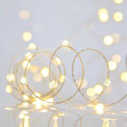 200 Λαμπάκια MicroLED με θερμό λευκό φως, εξωτερικού χώρου