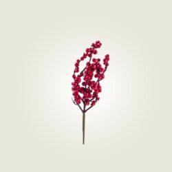 Πικ με κόκκινα berries, ύψους 33cm