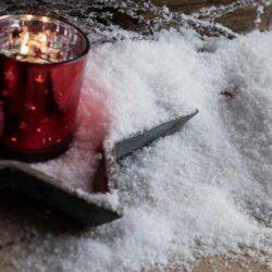 Xιόνι κρυσταλιζέ για χριστουγεννιάτικη διακόσμηση