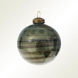 Μπάλα πράσινη - γυαλιστερή, 8cm
