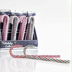 Γλειφιτζούρι διακοσμητικό χριστουγεννιάτικο, ύψους 25cm