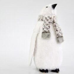 Πιγκουίνος με κασκόλ, ύψους 48cm