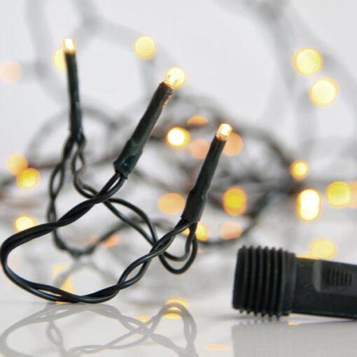 300 LED Θερμά Λευκά με επέκταση