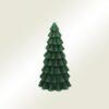 Κερί χριστουγεννιάτικο δέντρο πράσινο, ύψους 20cm