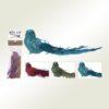 Πουλάκι - στολίδι κλιπ, μήκους 23cm