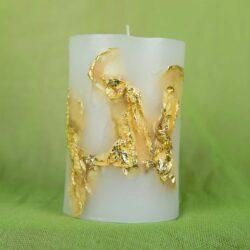 Κερί με φύλλα χρυσού
