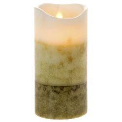 Κερί Led τρίχρωμο 15cm